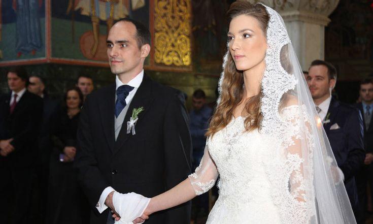 El 'sí, quiero' de los príncipes Mihailo y Ljubica, protagonistas de la primera boda real de Serbia en décadas