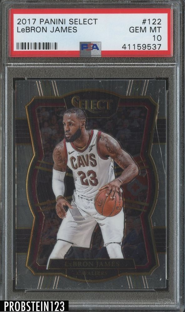 Sports Collectibles Trading Cards 2017-18 Panini Select #122 ...