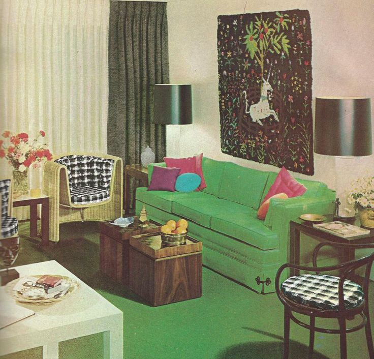 1114 best the vintage home images on pinterest 1970s for Home decor 1970s