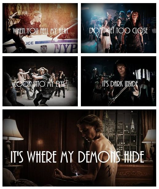 Jace Wayland x Imagine Dragons demons... I knew it was only a matter of time... And I love it XD