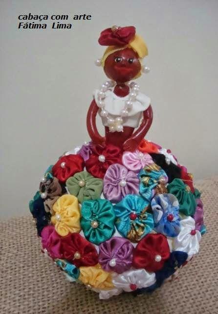 boneca de cabaça - Pesquisa Google