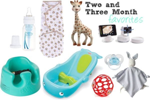 Two and Three Month Must Haves