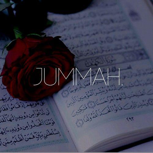 Jum3a mubarak!