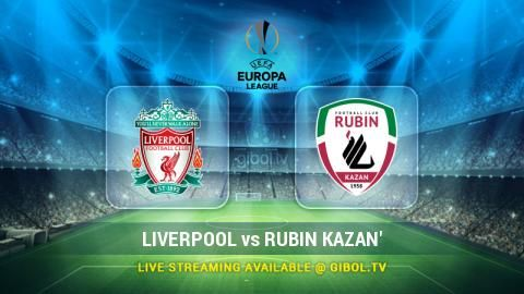 Liverpool vs Rubin Kazan' (22 Oct 2015) Live Stream Links - Mobile streaming available