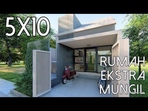 desain rumah 5x10m - desain rumah