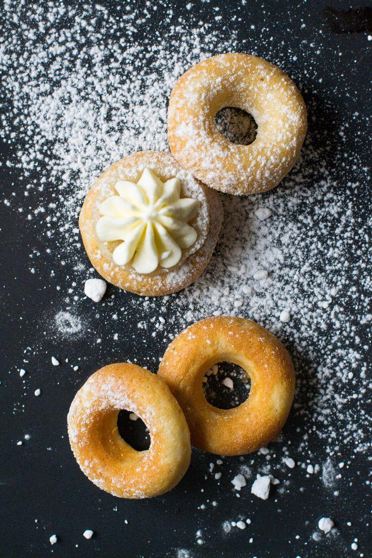 Mini Donut Semla | Hungry Heart