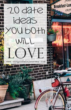 looking for new date ideas? something creative and fun? 20 Date Ideas You Both will Love!