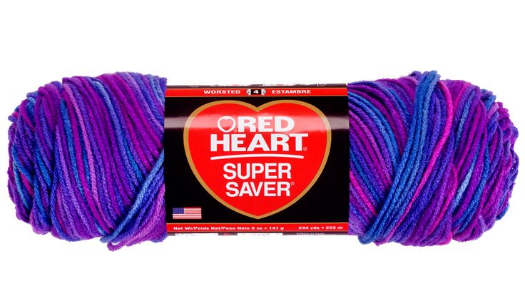Grape Fizz Super Saver Economy Yarn | Red Heart Trying to have squeaker help pick colors for her birthday blanket and not know it ;)