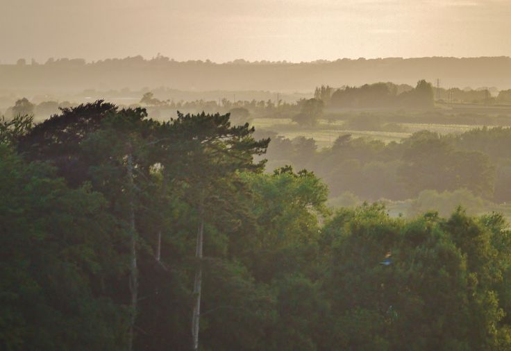 mist over Cotswolds, Taken by myself