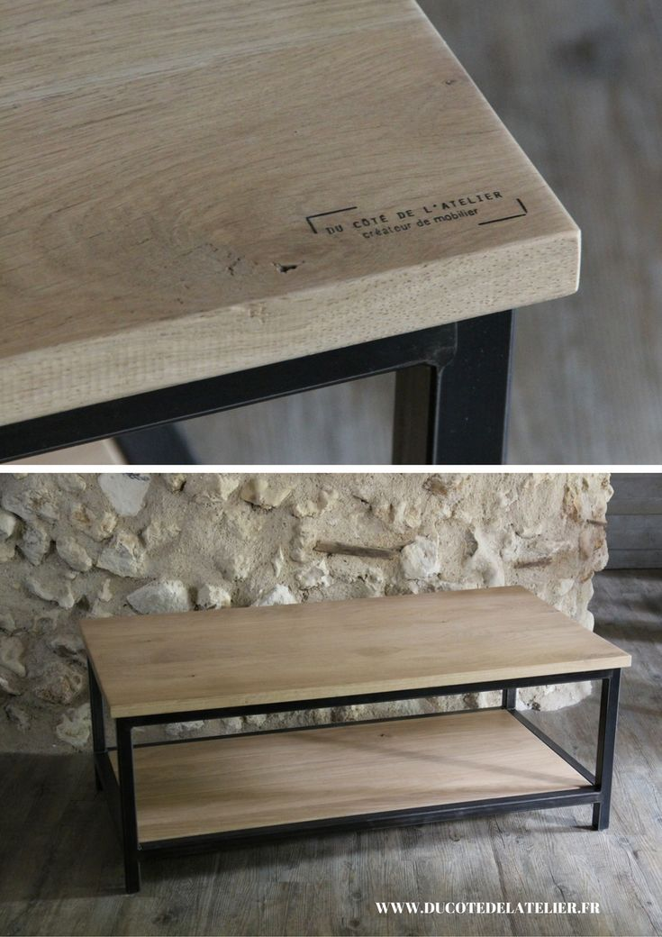 les 66 meilleures images propos de mobilier en bois et m tal sur pinterest meubles bois et. Black Bedroom Furniture Sets. Home Design Ideas