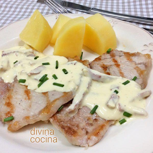 Con esta receta de lomo a la crema rápido puedes preparar una salsa deliciosa para filetes a la plancha de cerdo, pollo o pavo. La elaboración es sencilla.