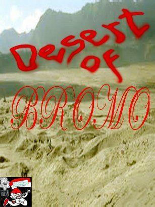 Comic Book DESERT OF BROMO