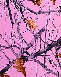 Pink Realtree Wallpaper | True Timber Snowfall Pink Velour Sheer Item #: 235761 $8.00 Yard