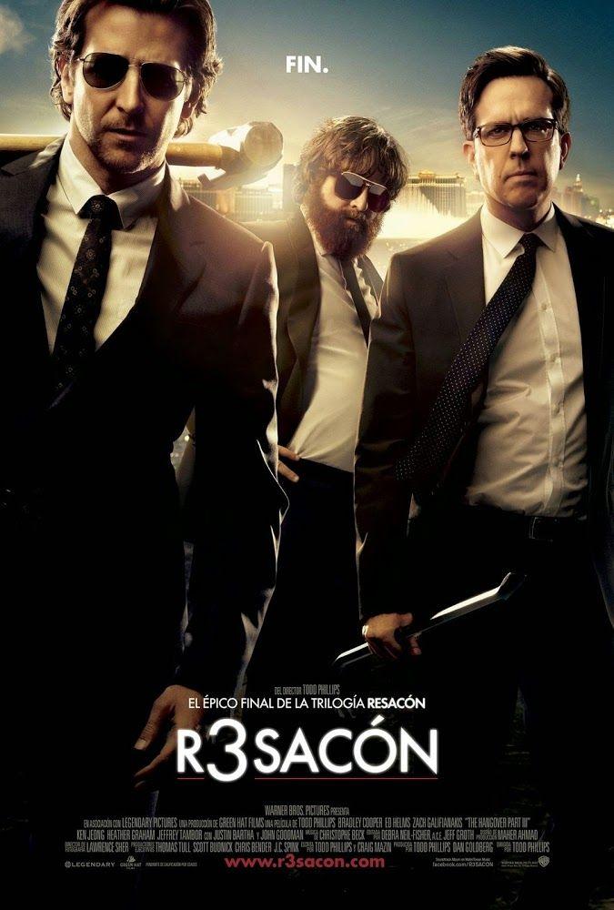 R3sacón (Resacón 3) - The Hangover Part III (2013) | La resaca del éxito... Bradley Cooper, Ed Helms y Zach Galifianakis vuelven a vivir otra aventura de las suyas....