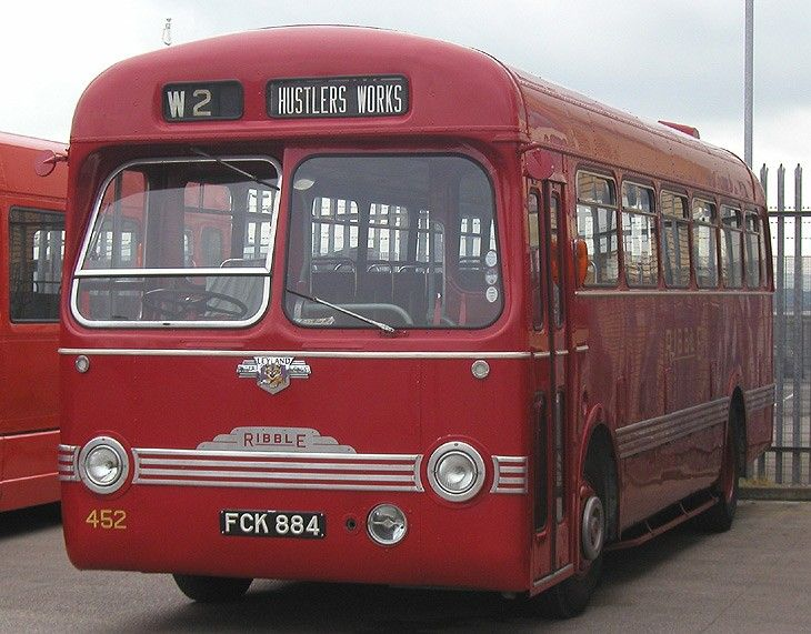 Leyland Tiger - Saro body
