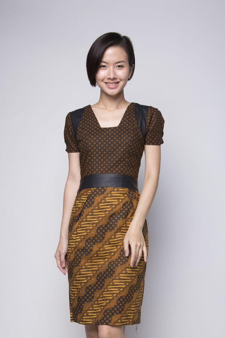 Truntum Naga Dress, IDR 340.000