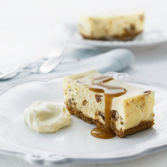 This Is The Best Baked Cheesecake Recipe With The Delicious Addition Of Sticky Date And Caramel Fudge Sauce Learn How To Make A Simple Cheesecake Here