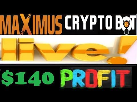 Cryptocurrency Trading With Maximus Cryptobot Signals Live