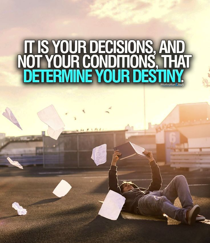 Choose wisely, and then act.  ★·.·´¯`·.·★ follow @motivation2study for daily inspiration