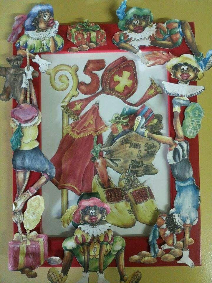 Sinterklaas creatief / knutselen