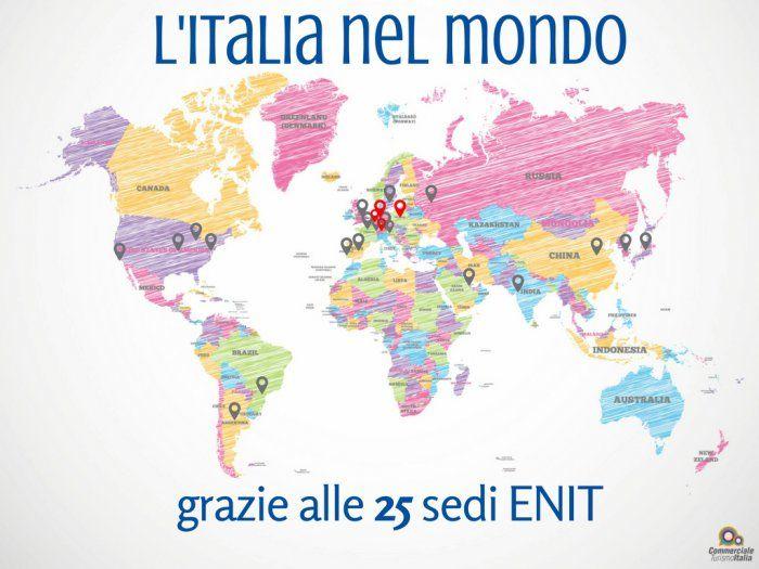 L'Italia nel mondo: ENIT punta a 25 sedi mondiali, grazie alle 4 new entry in Europa!