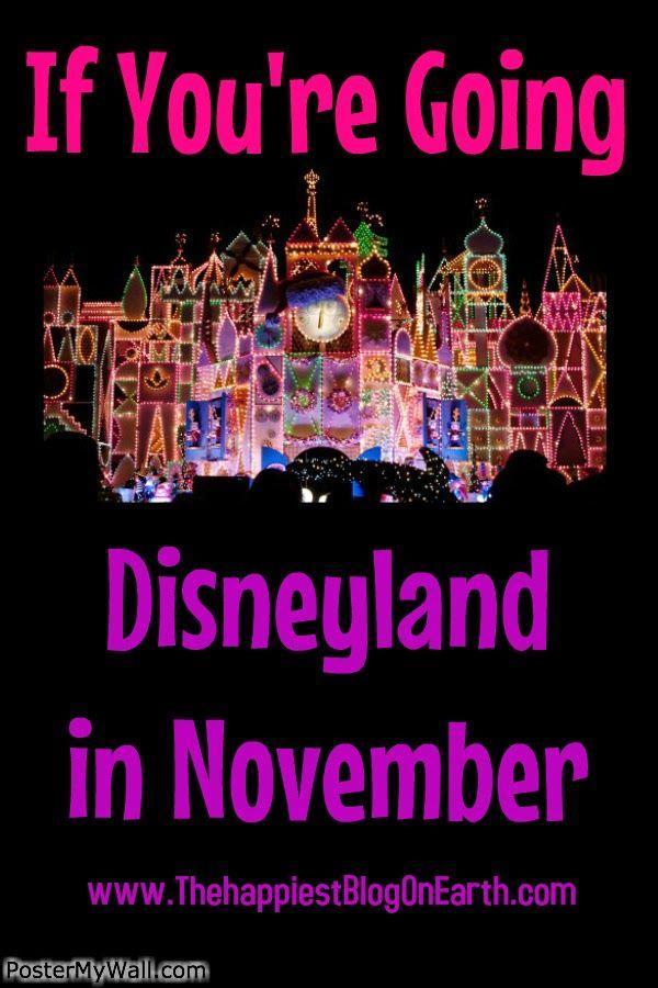 Disneyland in November