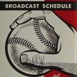 Miller #beer's broadcast schedule for the 1958 Milwaukee Braves #baseball