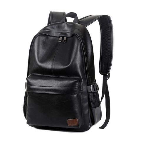 Mens Stylish Leather Backpack