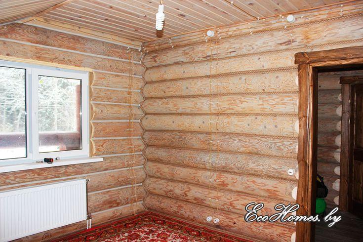 внутренняя отделка старого бревенчатого дома фото