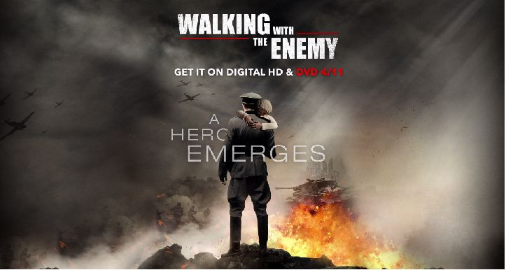 Walking with the Enemy Exclusive Featurette Shows Jonas Armstrong Saving Lives During World War II