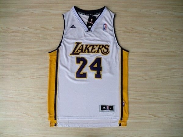 ... Lakers 24 Kobe Bryant Revolution 30 Swingman Alternate(White) Jersey  NBA Los Angeles ... d4cd47be3