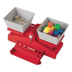 Learning Resources Precision School Balance w/ Weights https://www.schooloutfitters.com/catalog/product_info/pfam_id/PFAM35488/products_id/PRO47127?sc_cid=Amazon_LEA-LER2420&CA_6C15C=320012570000003792