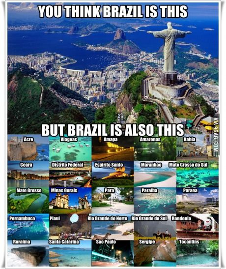 Brazil has 26 states