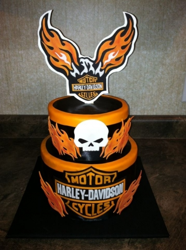 harley davidson wedding cakes - Bing Images