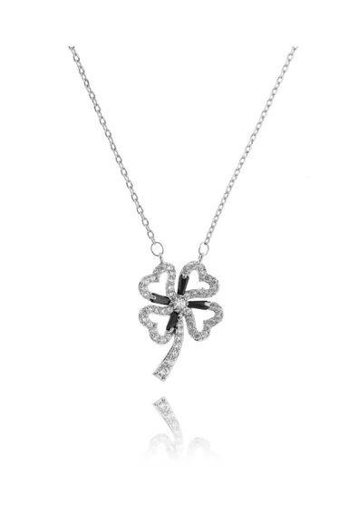 ded706d4197a5 Colar-de-trevo-prata-cravejado-de-zirconias-brancas-semi-joias-de-luxo
