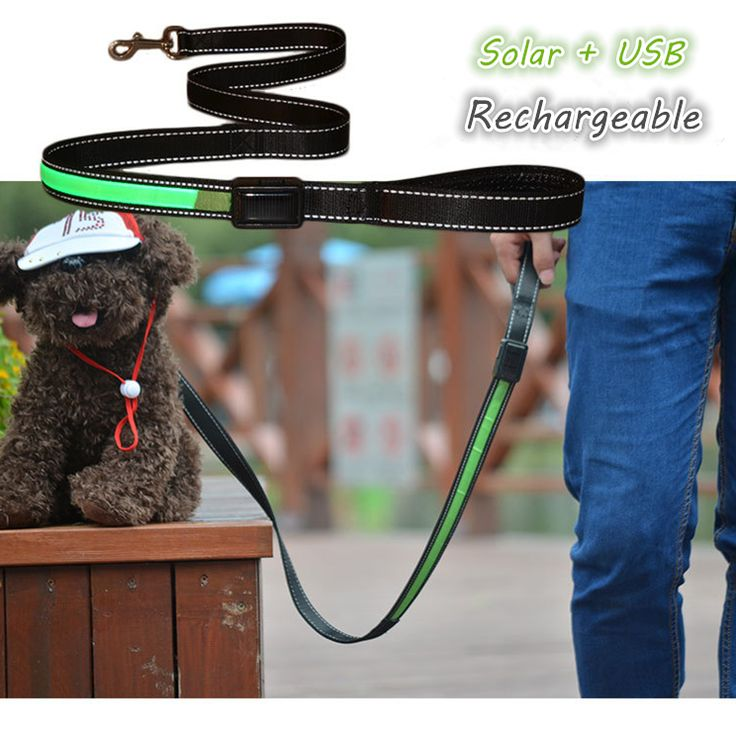 Solar/USB Rechargeable Led Light up Dog Leash - Night Safety Glow, Flashing     Tag a friend who would love this!     FREE Shipping Worldwide     Get it here ---> https://sheebapets.com/solar-led-light-up-pet-dog-lead-leash-night-safety-glow-flashing-dog-cat-lead-rope-led-collar-usb-rechargeable/