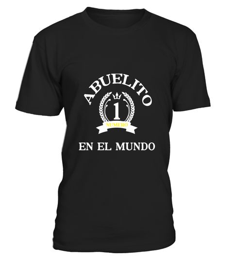 "# Mens Abuelito Numero Uno En El Mundo Spanish Latino T-Shirt .  Special Offer, not available in shops      Comes in a variety of styles and colours      Buy yours now before it is too late!      Secured payment via Visa / Mastercard / Amex / PayPal      How to place an order            Choose the model from the drop-down menu      Click on ""Buy it now""      Choose the size and the quantity      Add your delivery address and bank details      And that's it!      Tags: Show your love to your…"