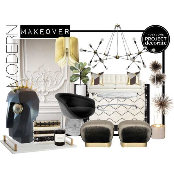 """""""modern makeover"""" by theaestate on Polyvore"""