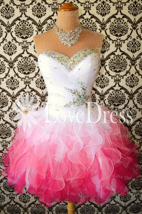 Cheap A-line Strapless Prom Dresses, Short Homecoming Dresses, Graduation Dress, Party Dress on Etsy, £102.49
