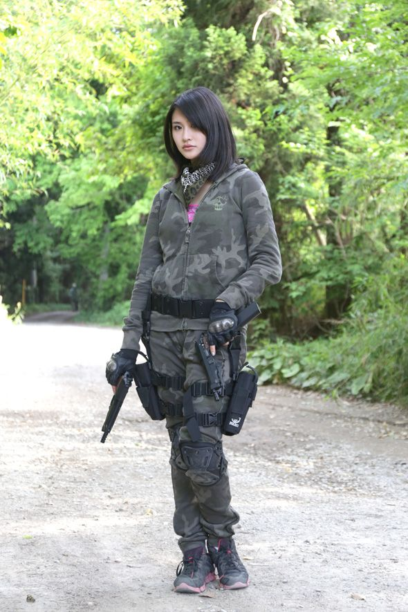 36 Best Woman Airsoft Player Images On Pinterest