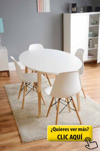 MY-Furniture – TRETTON – Mesa de comedor retro... #mesa #redonda