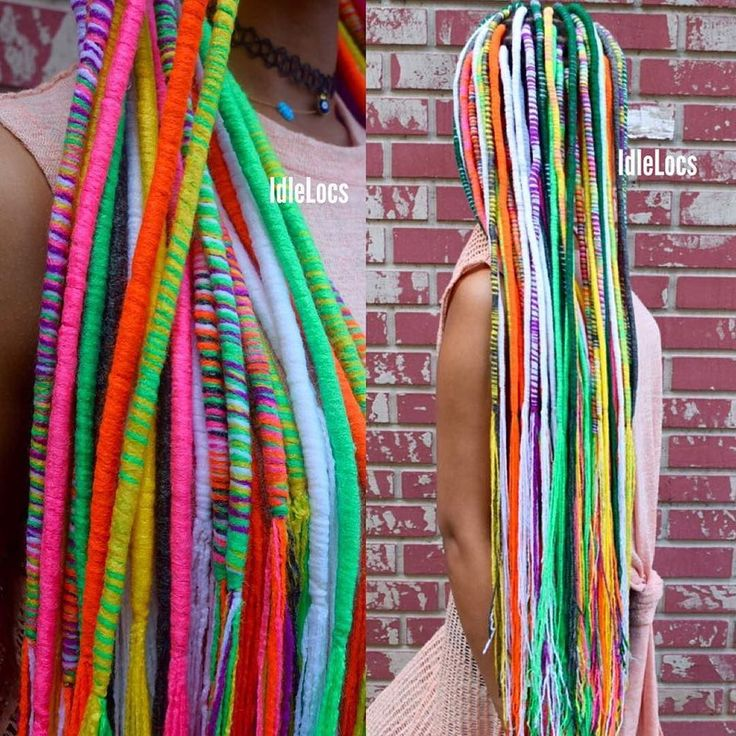 OMGoodness this hair is so fun! #protectivestyles #naturalhair #yarn #twist  #Repost @idlelocs  RAW Artist  For Ms. Unicorn @miccheckk12