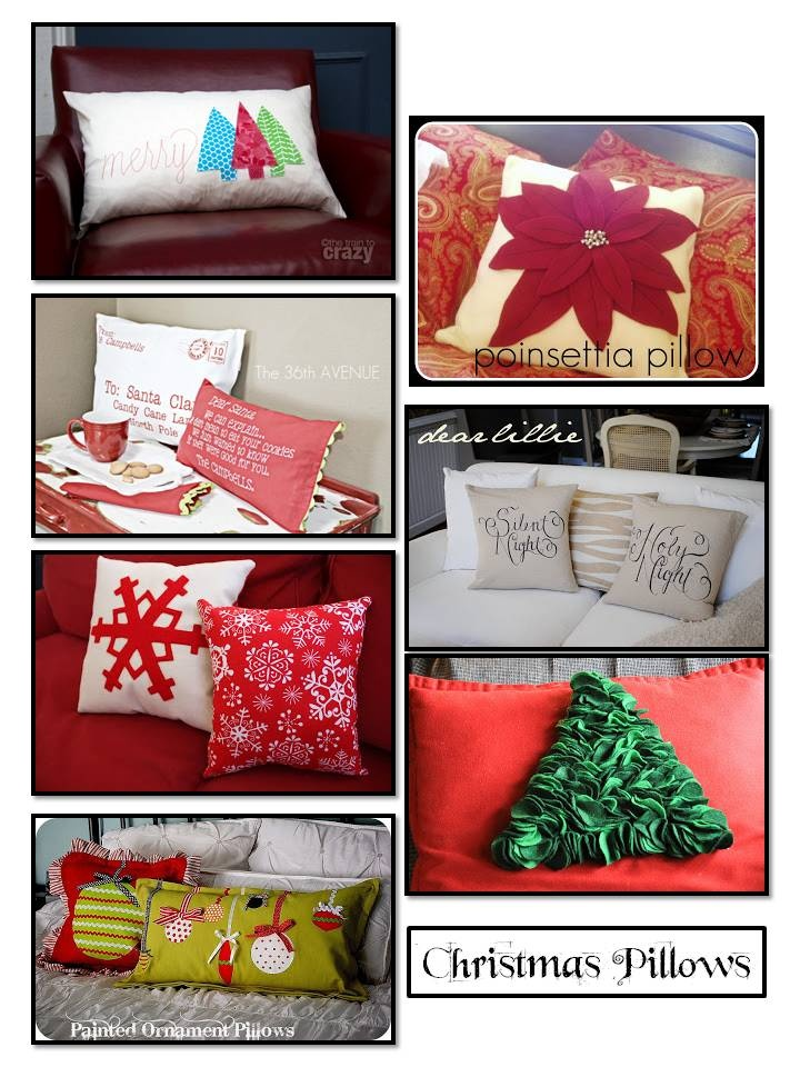 102 Best Pillows To Make Images On Pinterest Christmas