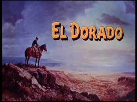 1966 - El Dorado - John Wayne - Robert Mitchum - abertura do Filme
