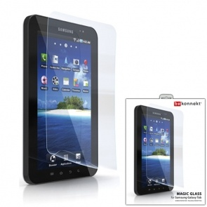 Folie Protectie Cellularline BKSPGTAB Clear Glass pentru Samsung Galaxy Tab P1000