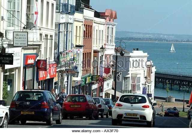Ryde Isle of Wight Southern England UK - Stock Image