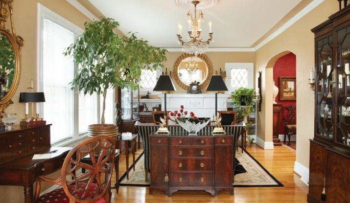 Interesting Furniture Arrangement In Long Narrow Living