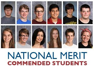 A Brilliant Dozen: 12 DMPS seniors are recognized as Commended Students by the National Merit Scholarship Program.
