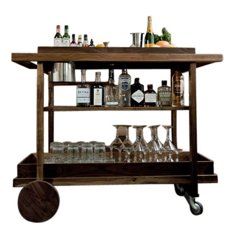 Bar Cart no. 1 - Traditional Bar Carts - Dering Hall
