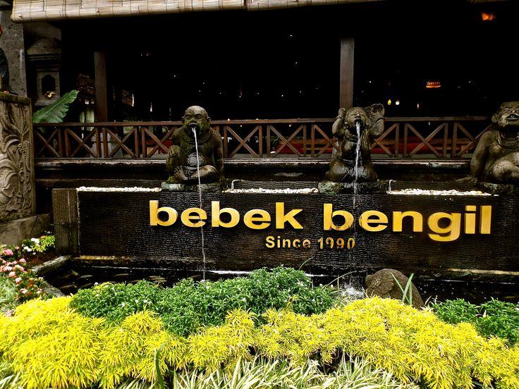 The famous duck dishes restaurant on Ubud, Bali. #ALIKA